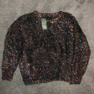 Tinsel Multi-Color Holiday Sweater